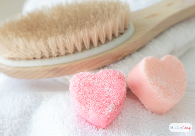 Learn how to make these homemade sugar scrub cubes, which will help exfoliate your skin and leave it feeling silky smooth. These are great for the shower or the bath, and they won't live the floor of your bath slippery.