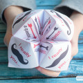 These printable paper fortune tellers are a fun and creative way to show that special someone how you feel on Valentine's Day.