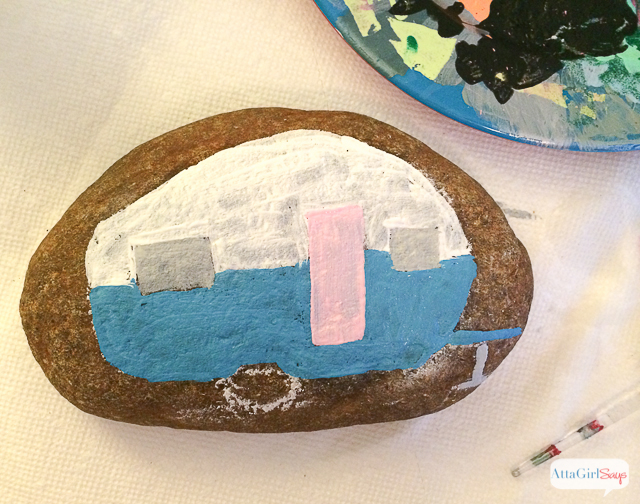 Dress Up Your Garden Or Decorate Houseplants With Painted Rocks I Just Love This
