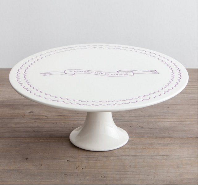 wise words on this cake stand click for decorating and serving ideas using cake stands