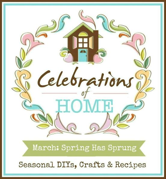 Join us for a monthly celebration of home, featuring seasonal recipes, crafts, home decor and DIY projects. #CelebrationsOfHome