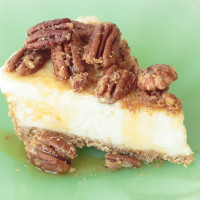 Pecan Pie Cheesecake Topping