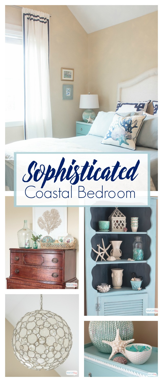 this is such a beautiful serene space i love all the sophisticated coastal decor - Coastal Decor