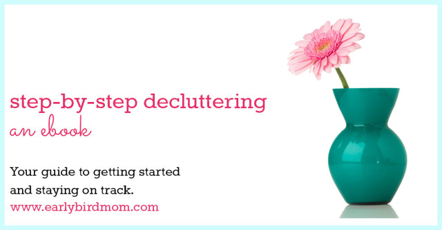Overcome your clutter problems once and for all with this terrific ebook that walks you step-by-step through the process of decluttering and organizing your life. #affiliate