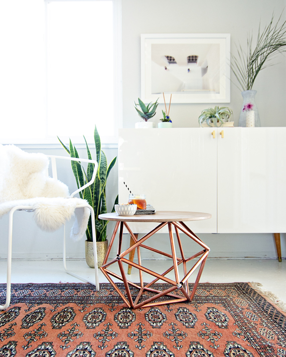 DIY Himmeli Table from Brittany Makes