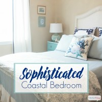 Sophisticated Coastal Decor in the Guest Bedroom