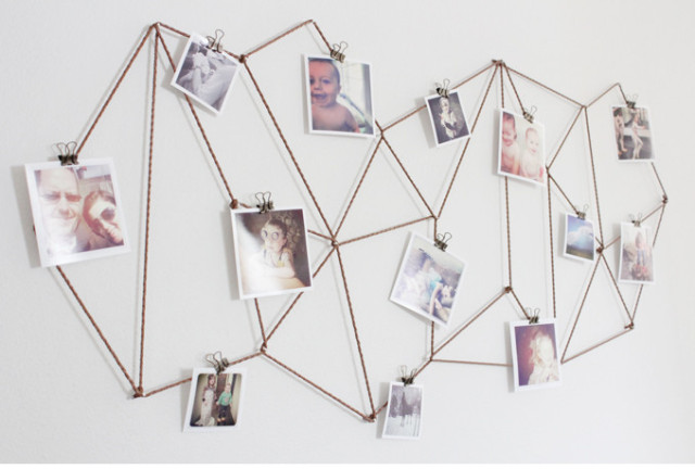 Geometric Photo Display from The Caldwell Project