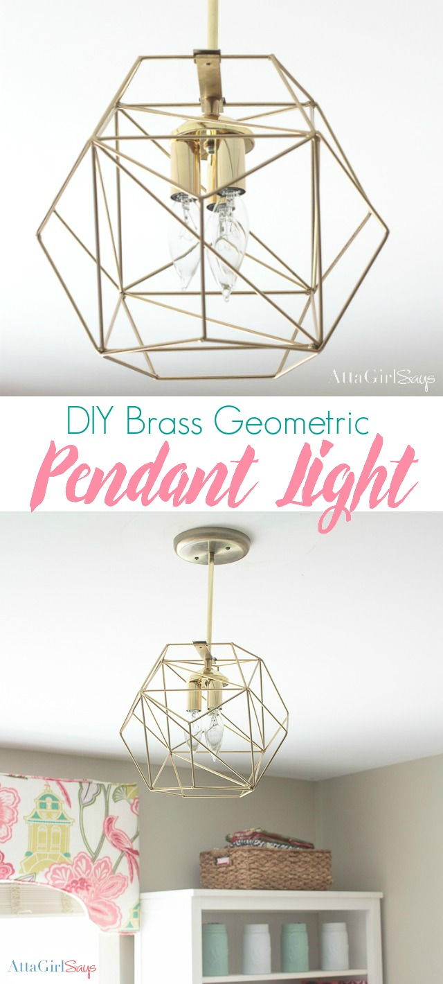 Diy Geometric Globe Pendant Light Atta Girl Says
