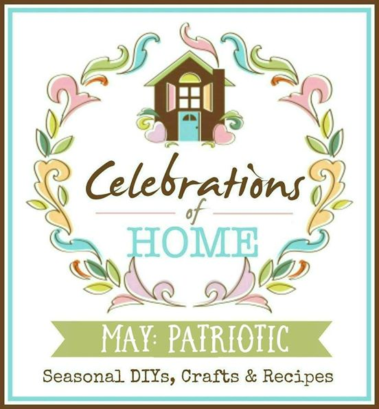 Your favorite bloggers share patriotic crafts, recipes, decorations, DIY and more. #CelebrationsofHome