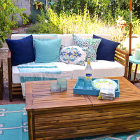 Backyard Design Ideas: Creating Celebrity Style with World Market