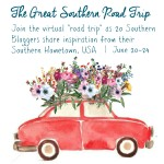 Join your favorite southern bloggers for a virtual tour of the south. We're sharing recipes, sights, crafts, traditions and more inspired by our hometowns. You can also link up your Southern-inspired projects.