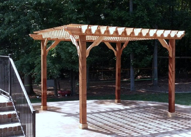 DIY pergola kits from Average Joe's Pergola Depot offer you custom options at an affordable price. The kits include all the hardware you'll need for assembly, and all wood is precut, predrilled and premarked. Most can be assembled in four hours by two people -- with no special tools or construction experience necessary. #sponsored