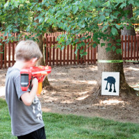 DIY Star Wars Target Shooting Game