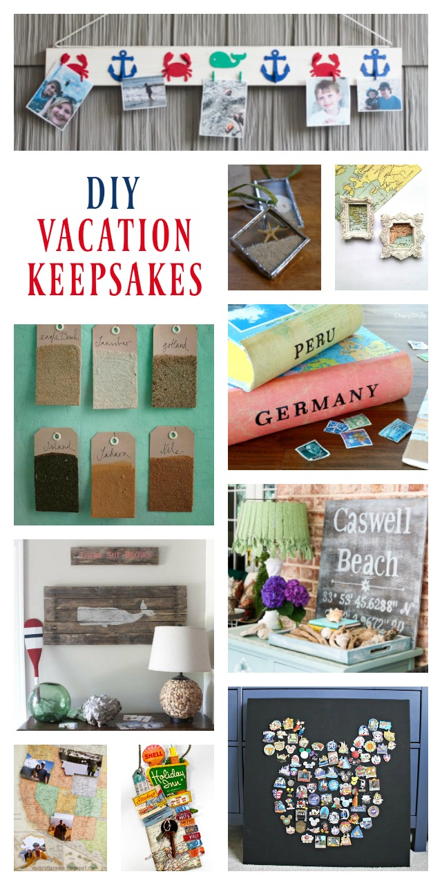DIY Vacation Keepsakes