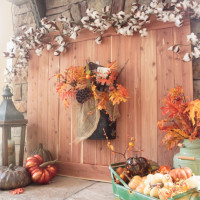 Fall Fireplace Mantel Decorating Ideas
