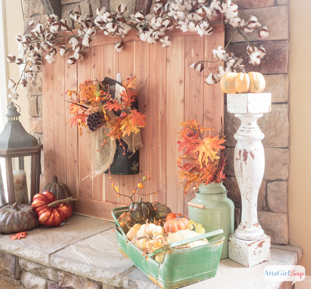 Fall Fireplace Mantel Decorating Ideas: Fall Fireplace Mantel Decorating Ideas