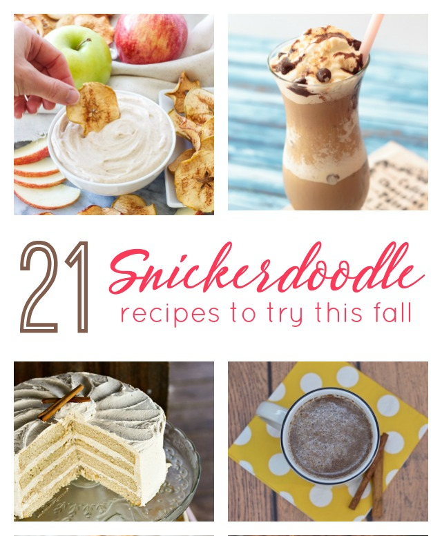 21 Ways to Up Your Snickerdoodle Recipe Game