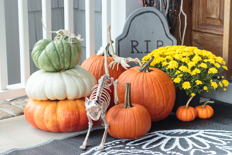 How to Dress Up Your Front Door For Halloween - Discover, A World Market Blog