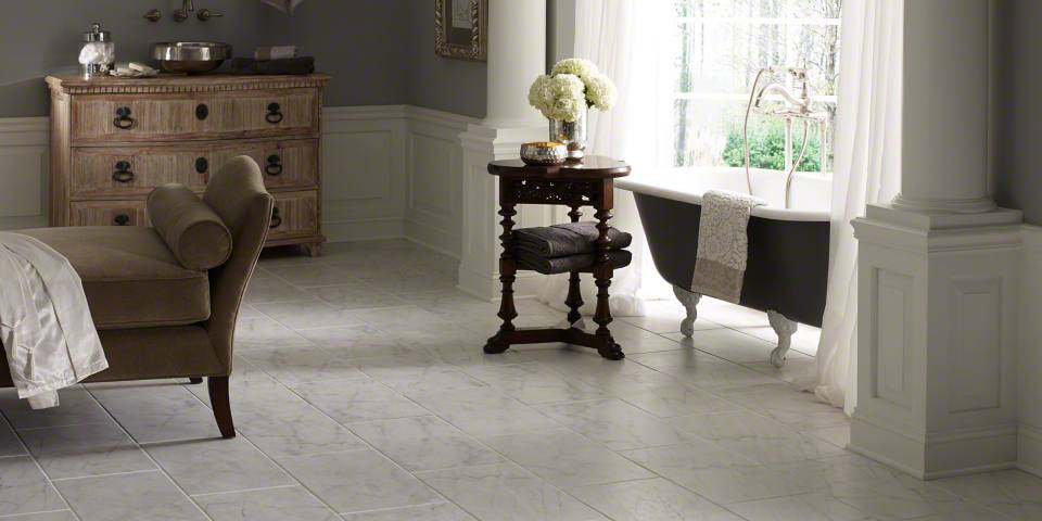 farmhouse flooring options tile - Dining Room Flooring Options