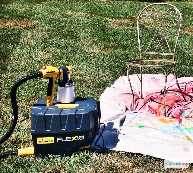 How To Use A Paint Sprayer To Revive Outdoor Furniture Atta Girl Says