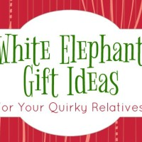 White Elephant Gift Ideas for All Your Quirky Relatives