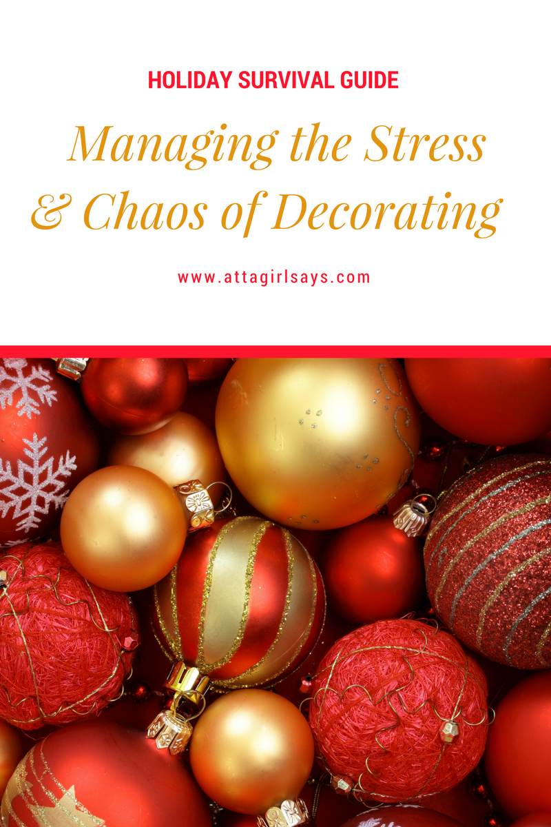 Holiday Survival Guide: Managing the Stress \u0026 Chaos of Decorating