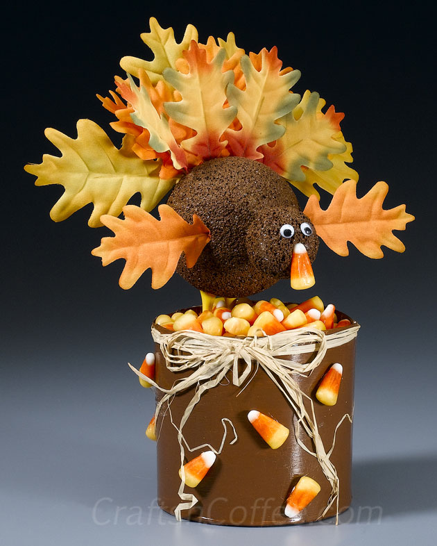 This silk leaf turkey lis just one of the adorable Thanksgiving turkey crafts you can make with leaves. Click to find links and instructions for them all.