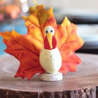 Thanksgiving Craft Ideas: Goofy Gourd Turkeys