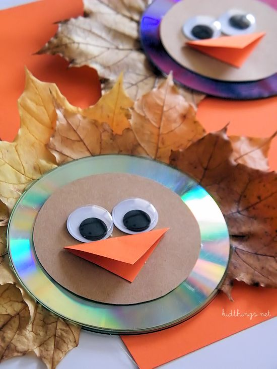 These suncatchers are just one of the adorable Thanksgiving turkey crafts you can make with leaves. Click to find links and instructions for them all.