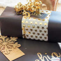Christmas Gift Wrapping Ideas from Your Craft Room