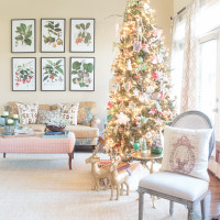 2016 Holiday Home Tour: Vintage Glamour & Sparkle