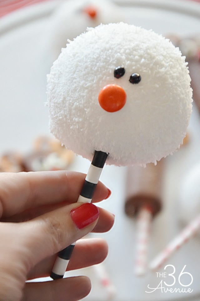 50+ Fun Snowman Snacks For Cold Winter Days