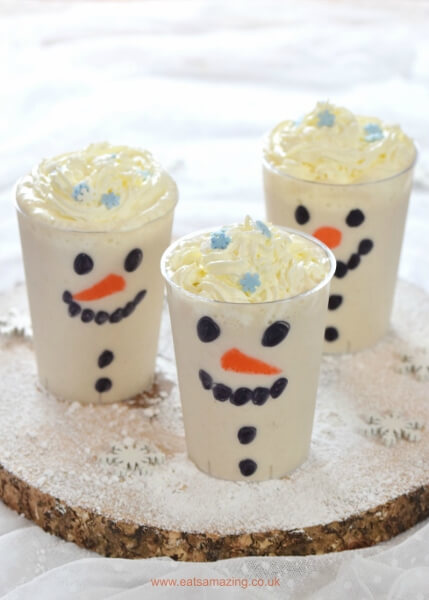 50 fun snowman snacks for cold winter days