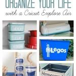 Home Organization Ideas Using a Cricut