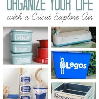 Home Organization Ideas to Make with a Cricut