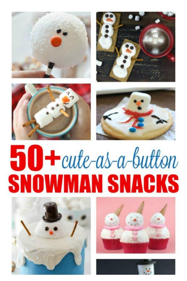 50 Cute As A Button Nose Snowman Snacks Atta Girl Says
