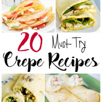 20 Delicious Crepe Recipes