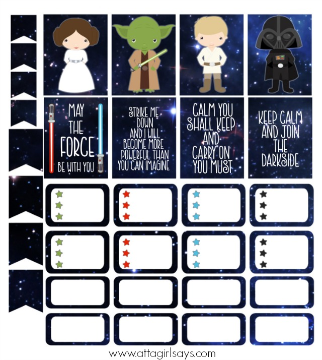 Cut & Print Star Wars Stickers for Your Planner - Atta ...