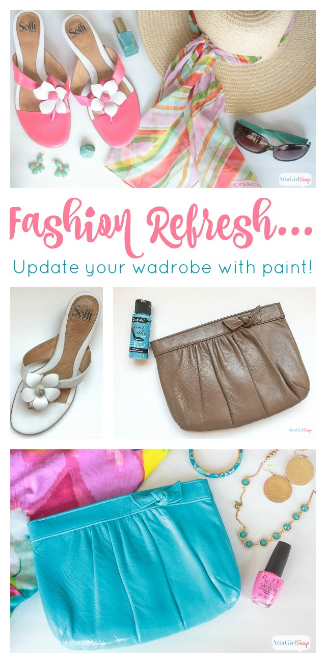Give your spring wardrobe a makeover with a fresh coat of paint! Learn how to use patent leather paint and other craft paint to create inexpensive, fashionable accessories and add color to your wardrobe.