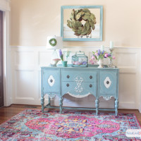 Colorful Spring Foyer Decor: Create a Welcoming Entry