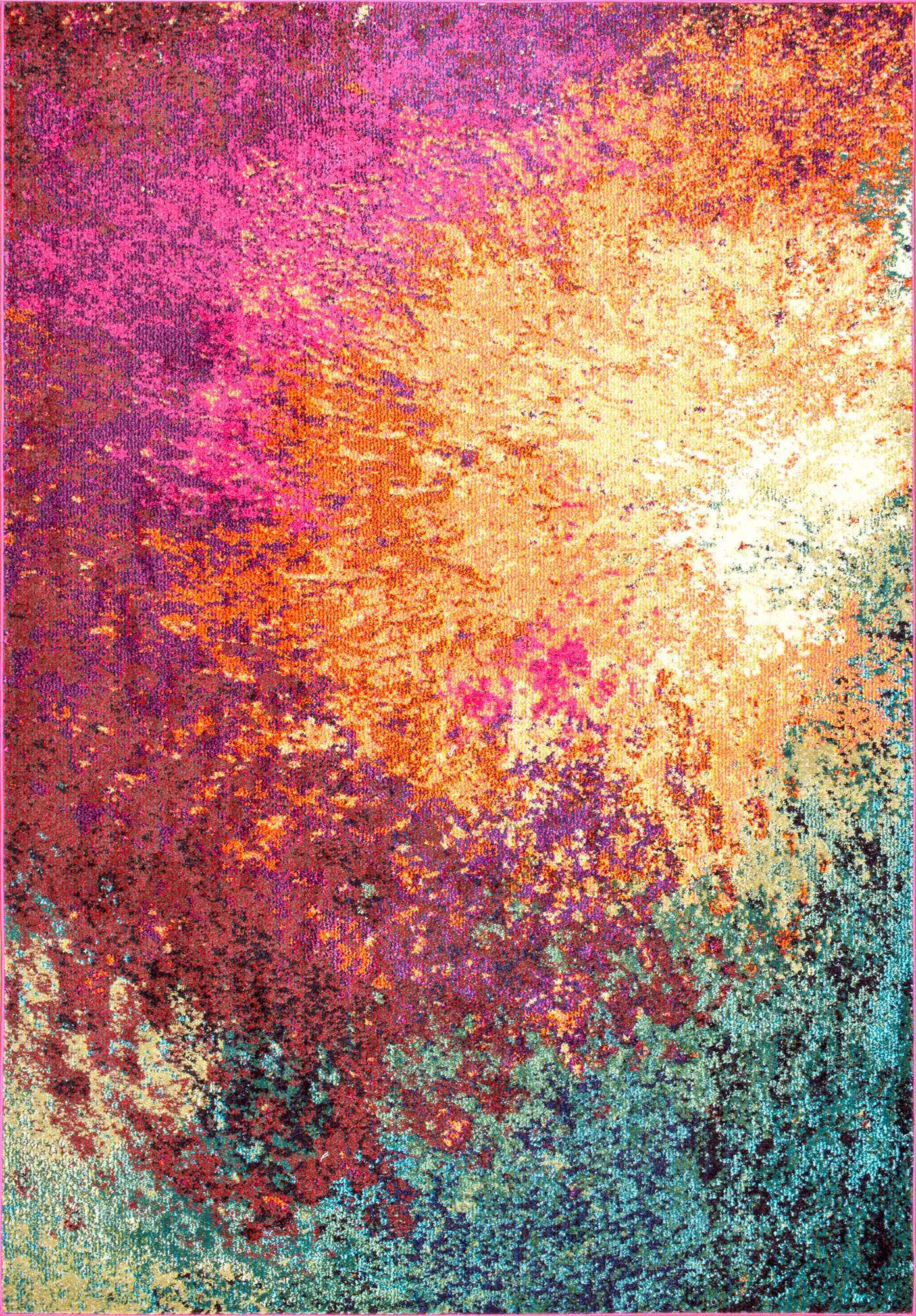 Bold Area Rugs 10 boldly colorful vintage area rugs - atta girl says
