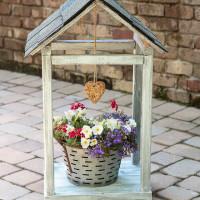 Rustic DIY Bird Feeder & Plant Atrium