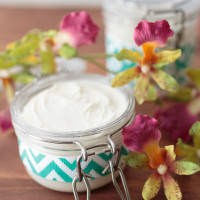 Summer Days Homemade Coconut Oil Lotion