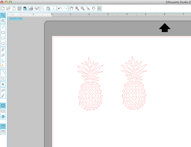 Use your Silhouette Cameo to cut a vinyl stencil to make these etched pineapple drinking glasses.