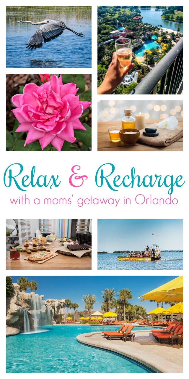girls weekend ideas for a relaxing orlando mom-cation - atta girl says