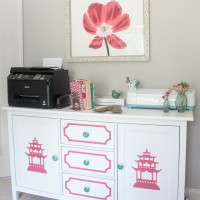 Chinoiserie Furniture IKEA Sideboard Makeover