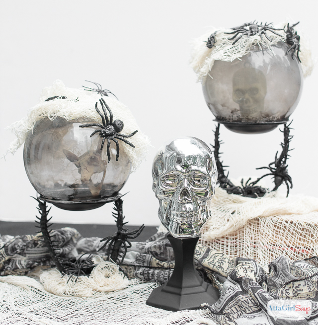 Dollar Tree Halloween Crystal Ball Craft Atta Girl Says Simple Halloween Crystal Ball Decoration