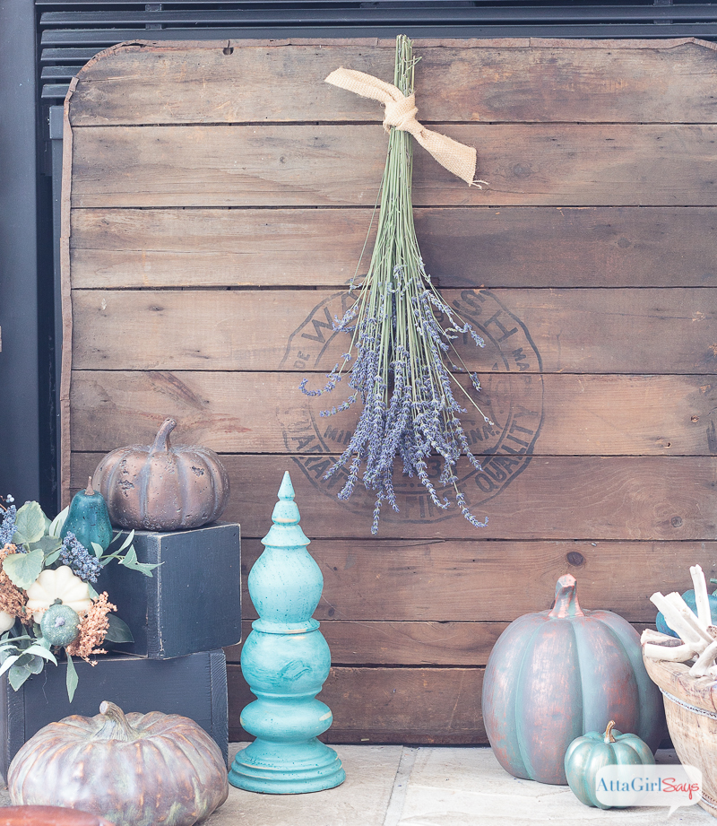 Fall Fireplace Mantels: Fireplace Mantel Decor In Jewel Tones For Autumn