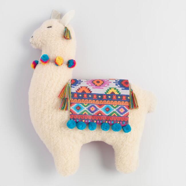 Llama Head Wall Decor