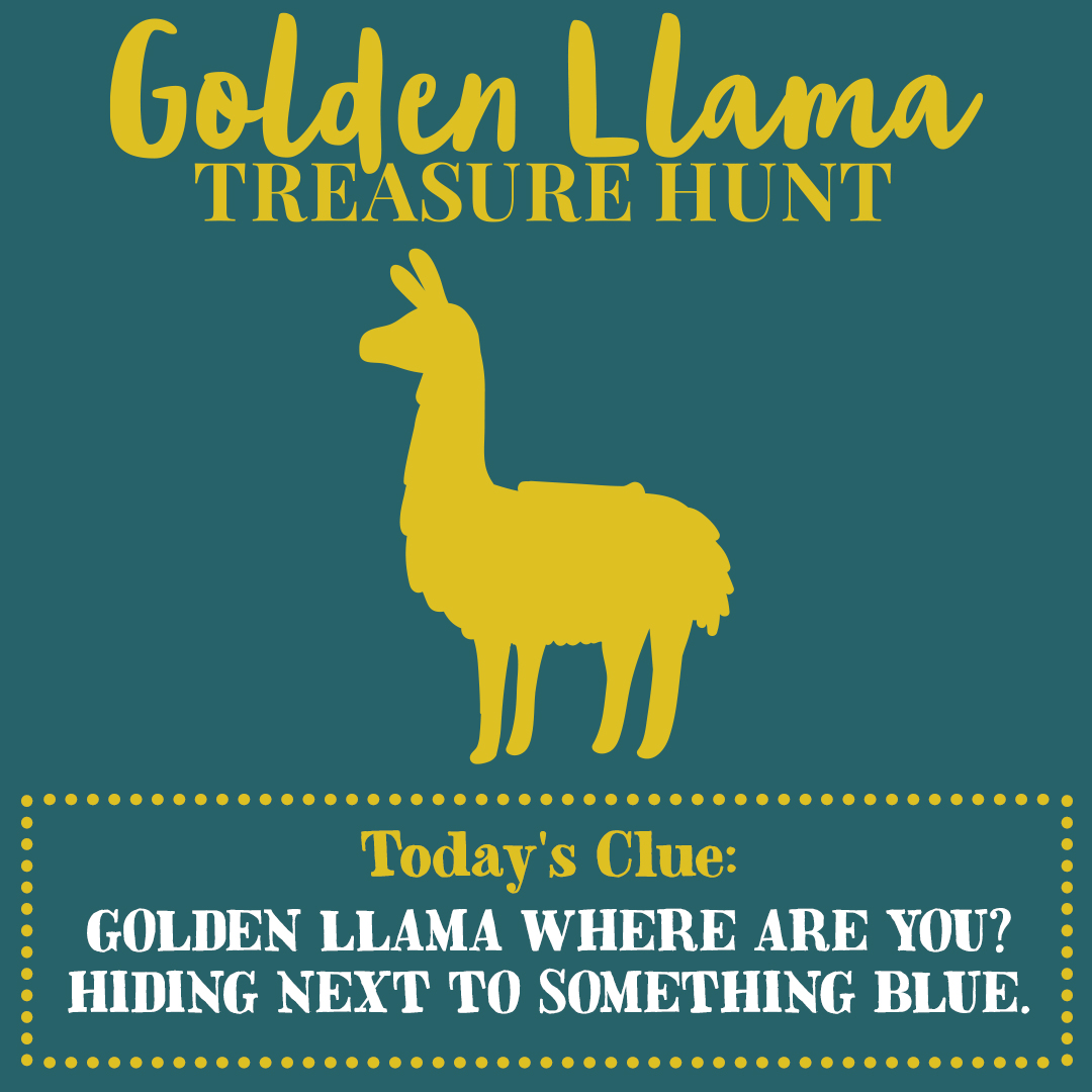 Clue 1 for Cost Plus World Market Golden Llama Treasure Hunt Program #ad #GiftThemJoy #worldmarkettribe